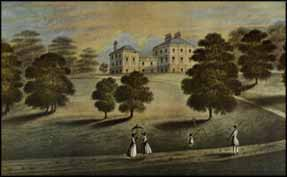 Rowan Family Linthouse Mansion House c1825