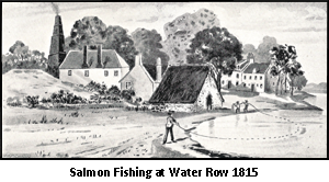Salmon Fishing on River Clyde at Govan c1838