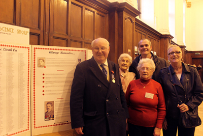 Group members, James McGhee, Jean Melvin, Flora Pagan, Annie Quigley & Colin Quigley