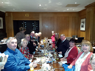 Govan Reminiscence Group celebrate at GoGlasgow Urban Hotel