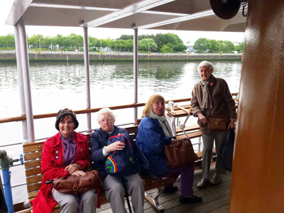 Govan Reminiscence Group go doon the watter on the P.S. Waverly